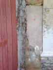 Textural walls and peeling paint