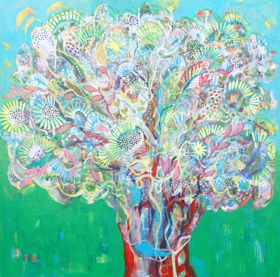 Majorcan inspired tree